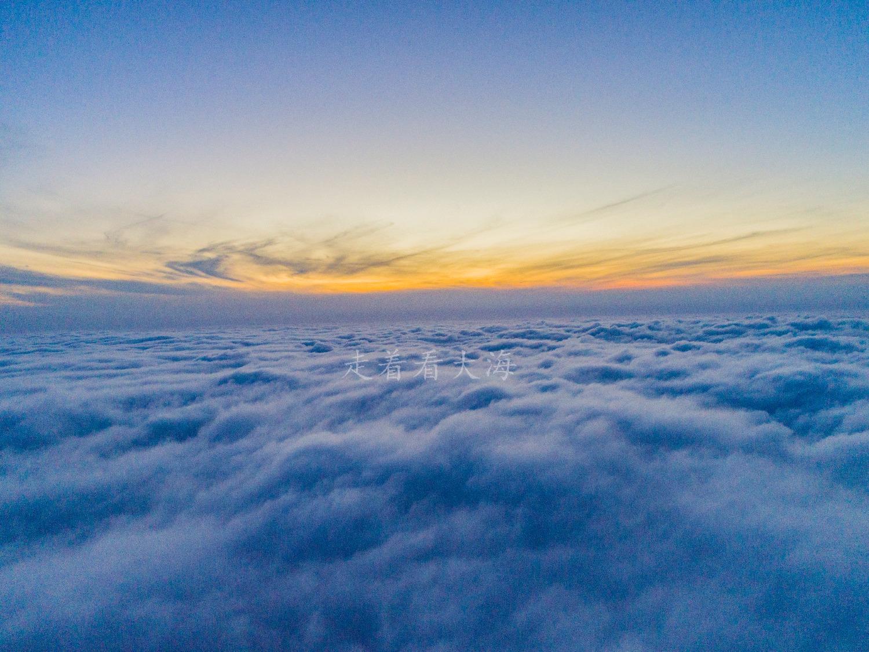 青岛平流雾驾到!云端之上,双机共舞