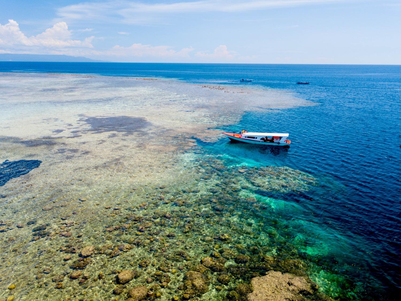 美娜多潜水,巴厘岛看海,这才叫夏天